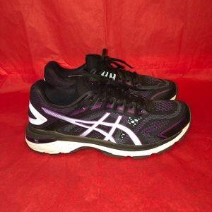 ASICS GT 2000 running/walking purple black SZ 9